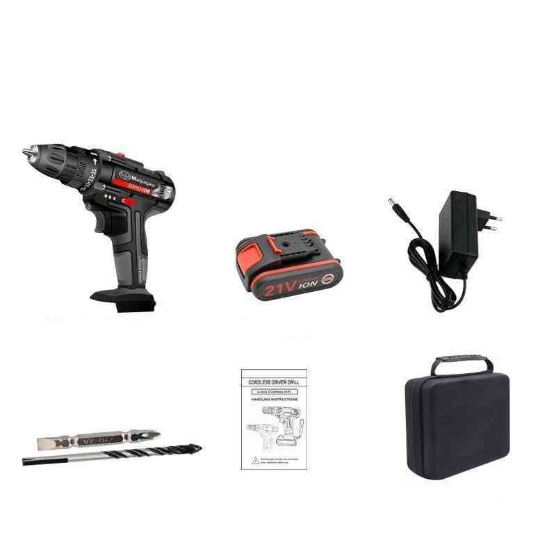 High-quality Electric Screwdriver Lithium Battery Cordless Electric Drill