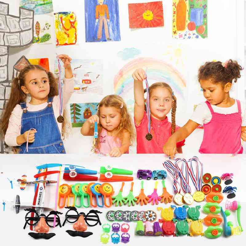 100pcs's Educational Birthday Party Small Carnival Set