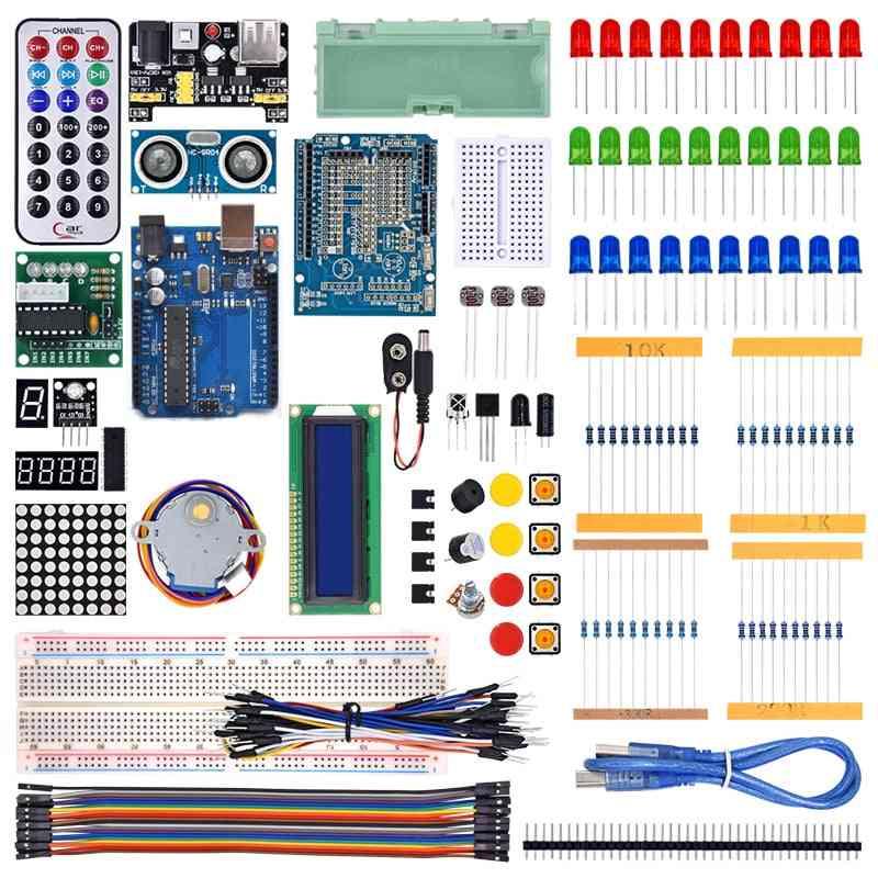 Starter Kit R3 With Tutorial /1602 Lcd / R3 Board/ Resistor