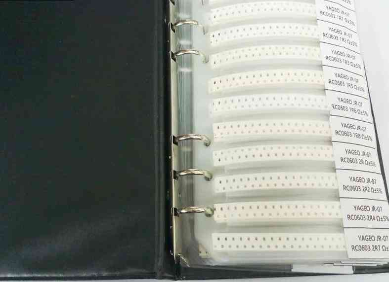 Smd Resistor- Sample Book, Tolerance Kit