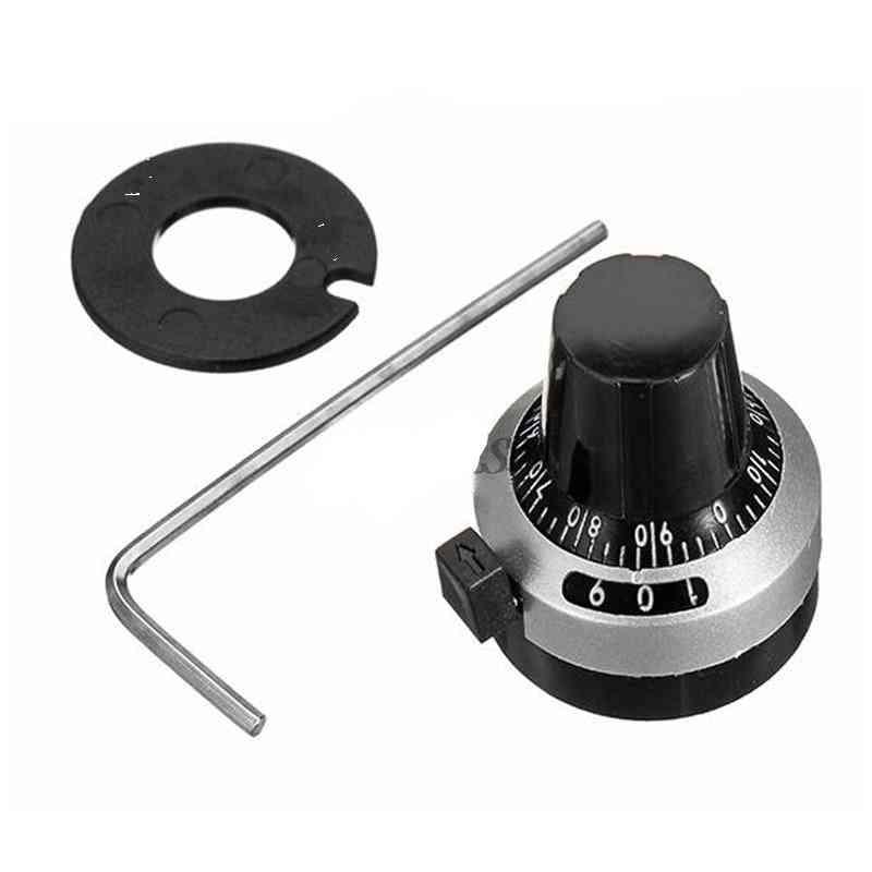 Precision Scale- Potentiometer Knob
