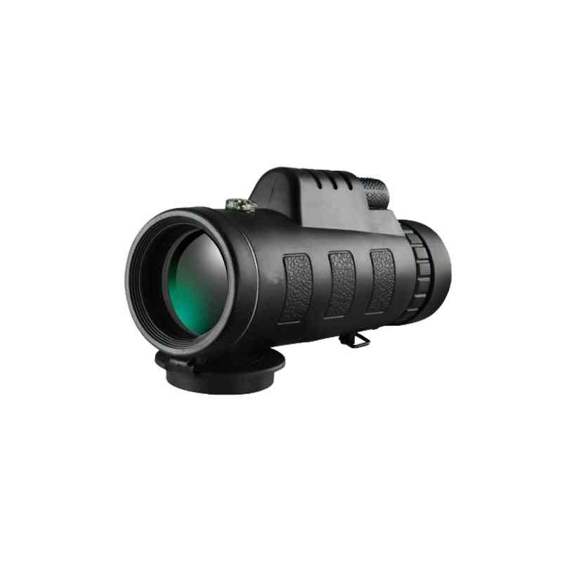 Zoom Telescope Monocular, Binoculars Clear Night Vision, Pocket Optical Prism Scope For Camping Hunting