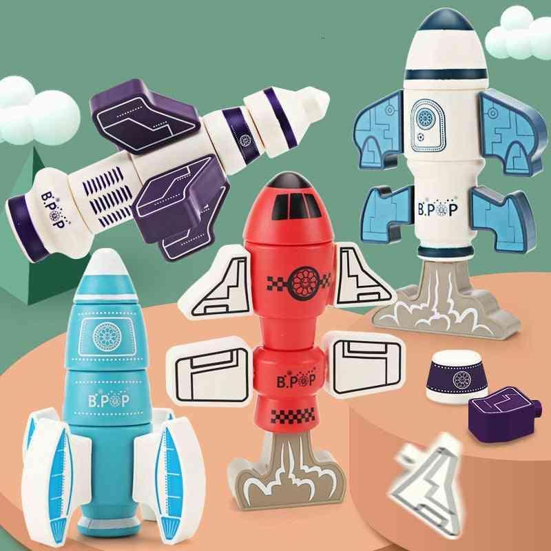 Children's Magnetic Robot Building Block