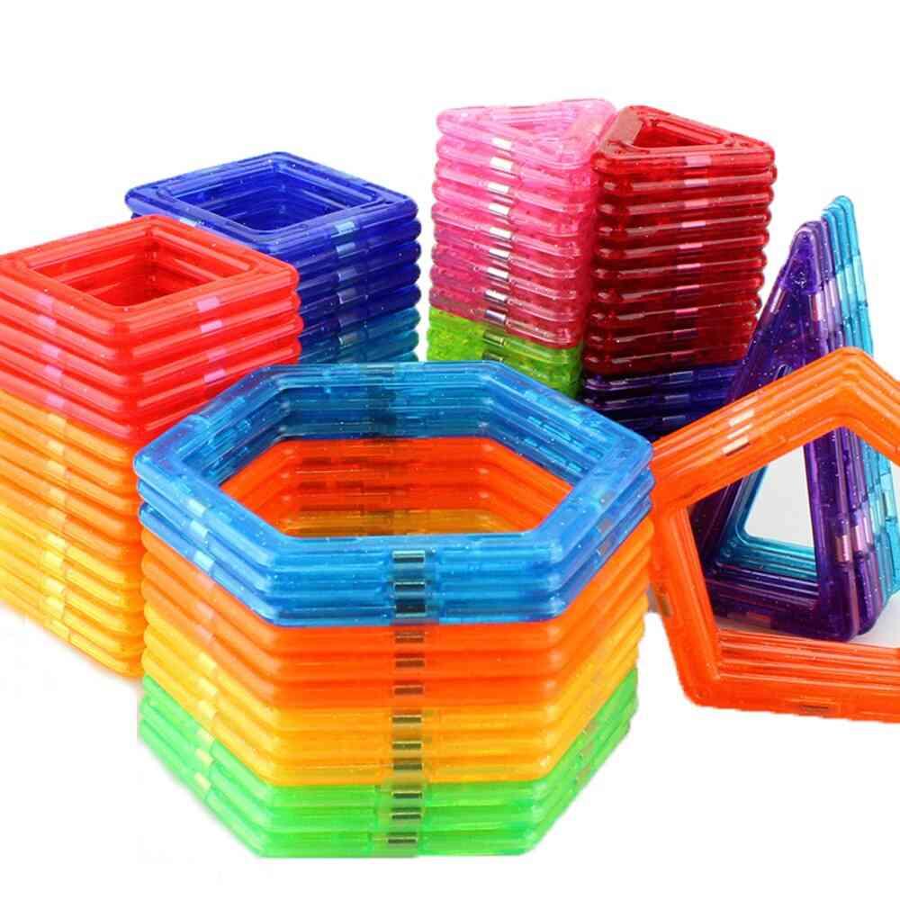 Mini Size Magnetic Blocks Designer Set