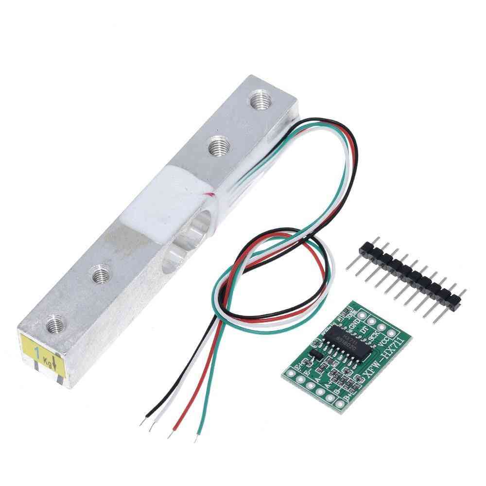 Digital Load Cell Weight Sensor 1- 20kg Portable Electronic Weighing Sensors Ad Module