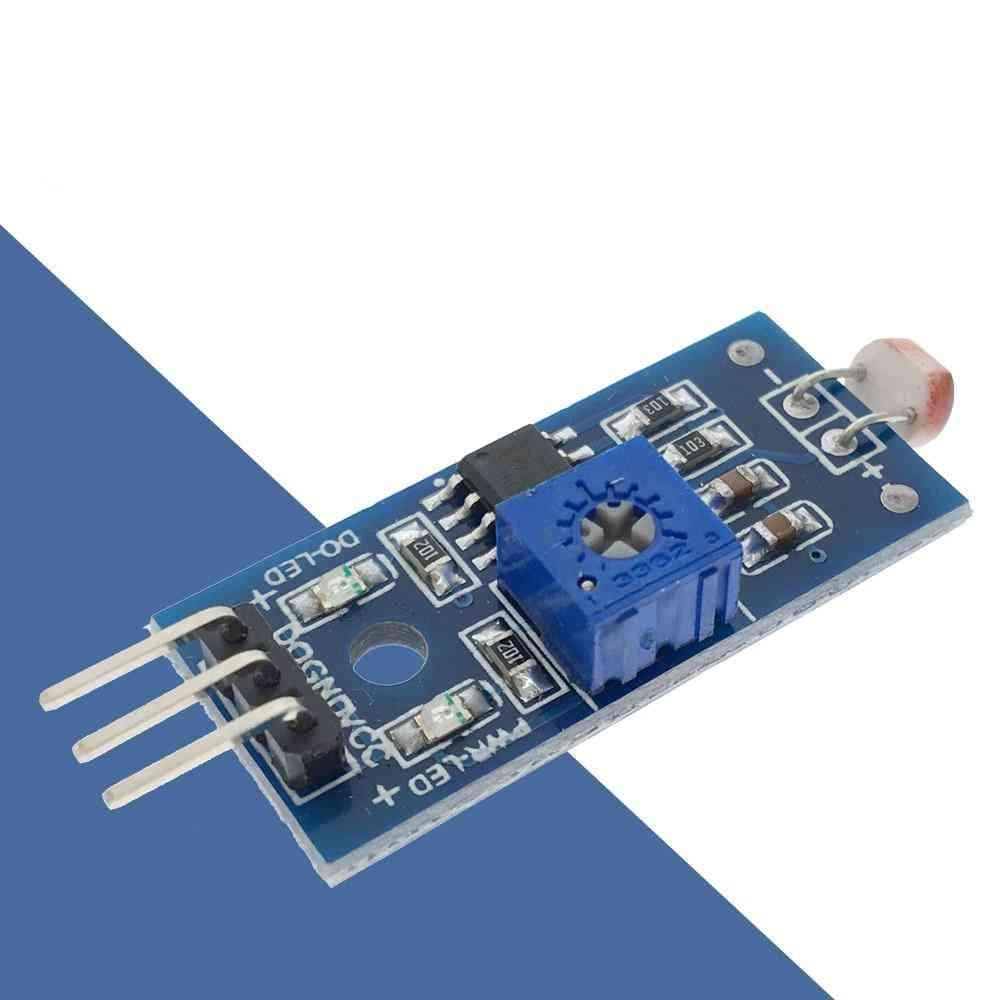 Brightness Resistance Sensor Module Light Intensity Detect Photosensitive Resistor