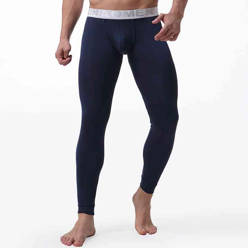 Long Johns Men Winter Warm Thermal Underwear Brand Male Anti-microbial