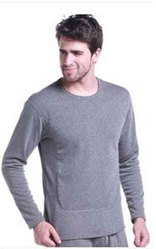 Winter Velvet Thick Thermal Underwear, Warm Layered Clothing Pajamas / Second Thermal