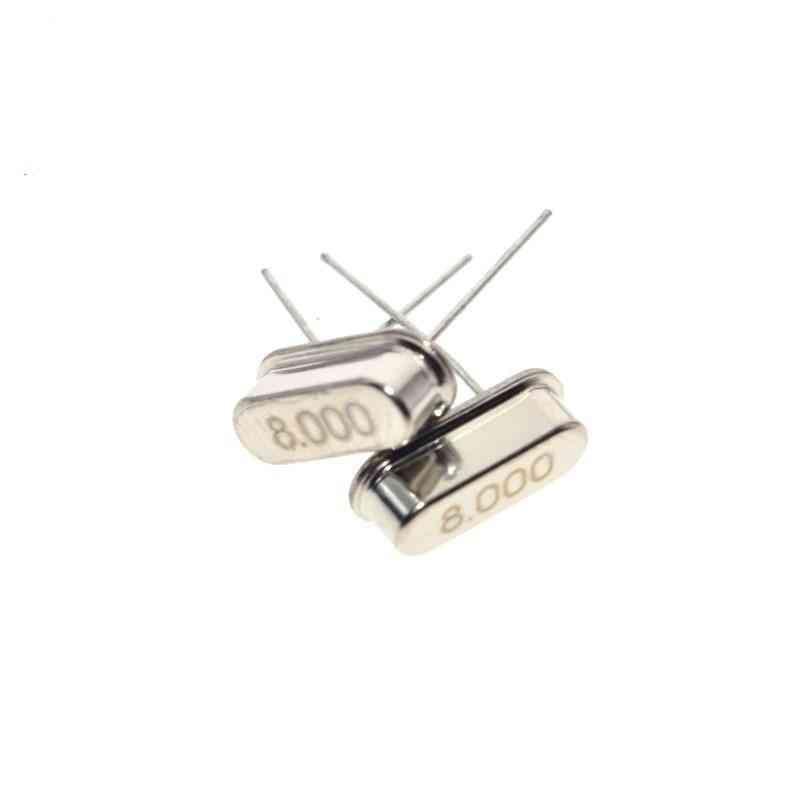 8 Mhz- Quartz Passive Oscillator, Crystal Resonator