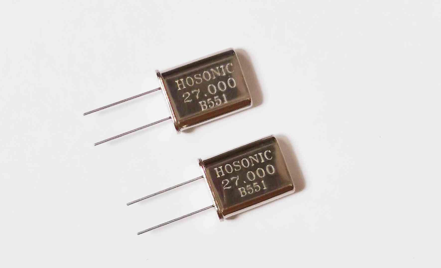 10pcs- In-line Passive, Quartz Crystal Resonator