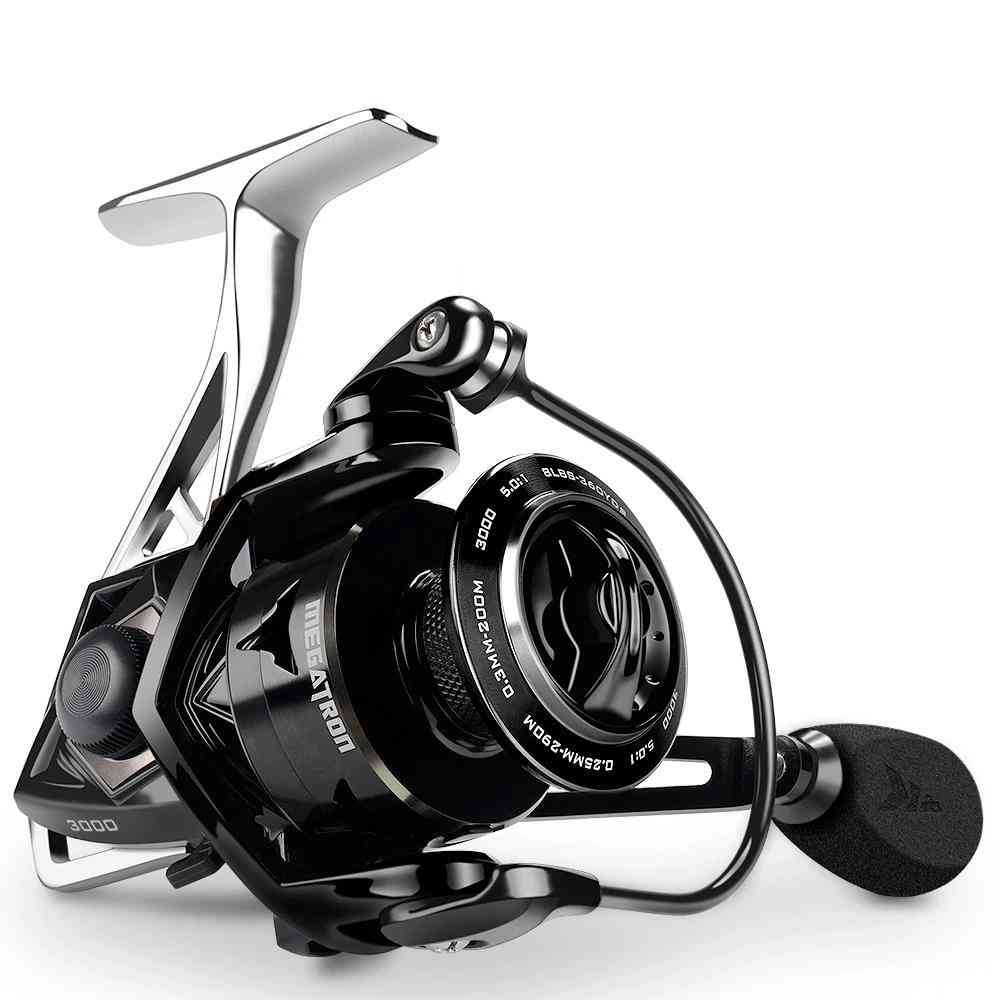 Carbon Drag- Spinning Fishing Reel With Large Spool