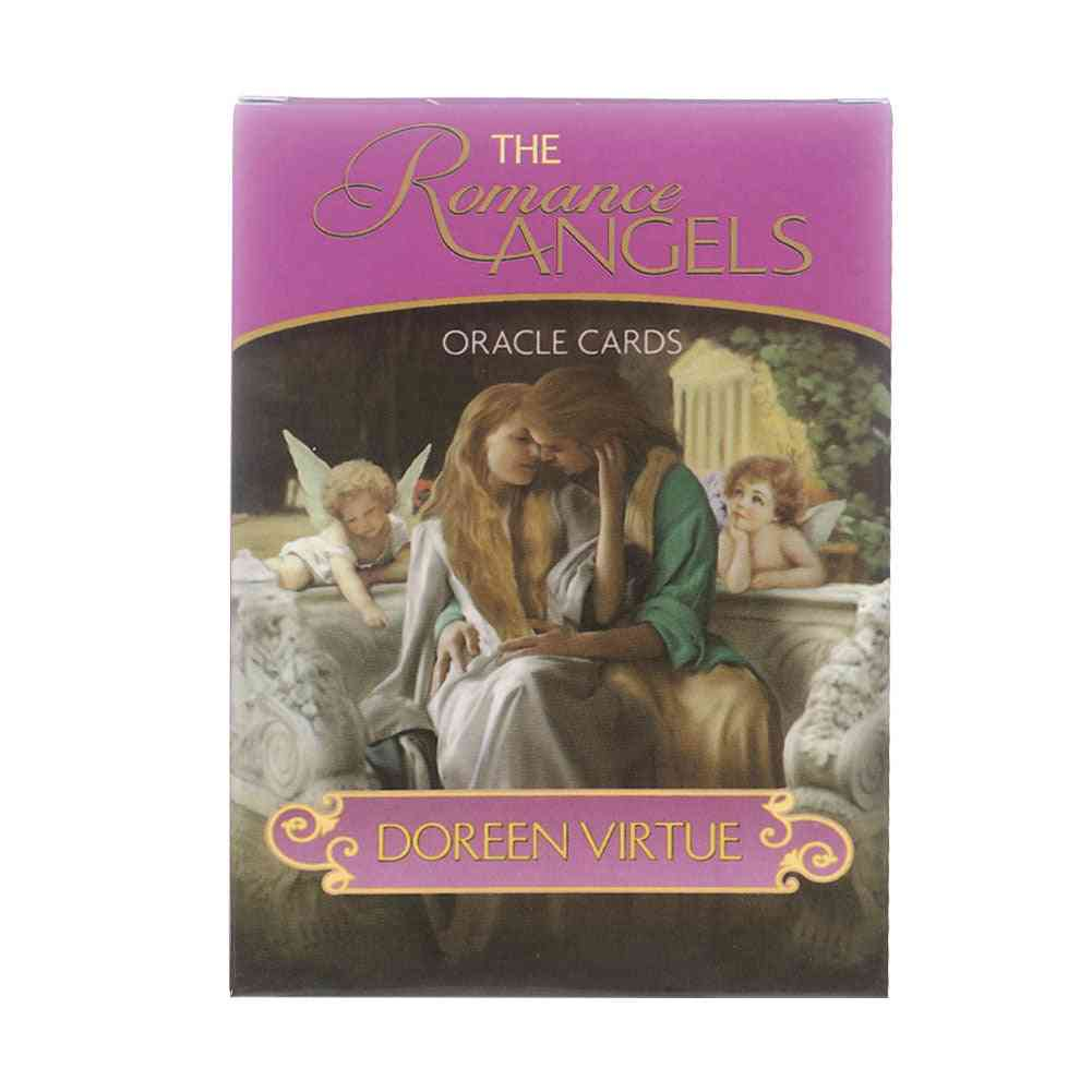 44pcs- Romance Angels, Oracle Deck Mysterious, Tarot Cards, Board Game