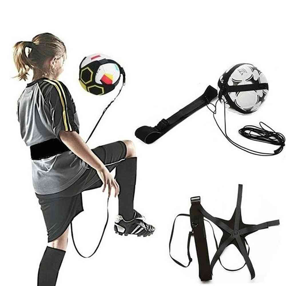 Juggle Bags Auxiliary Circling Belt Kids Football Training Equipment Kick Solo Soccer