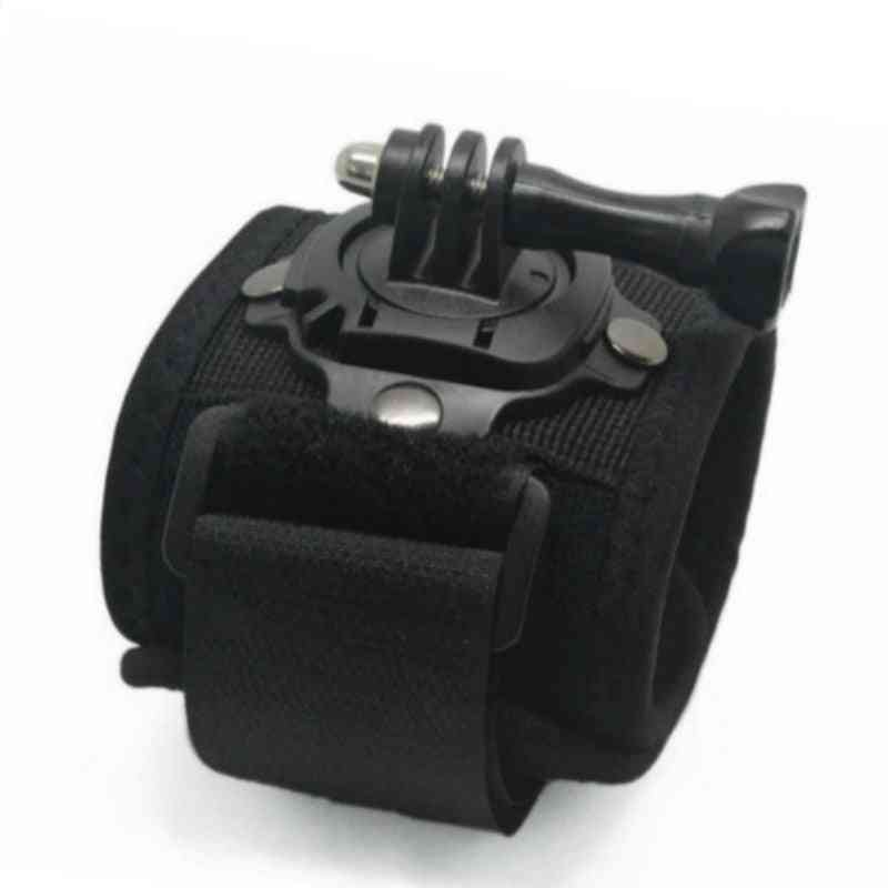 Rotating Wrist Hand Strap Band, Tripod Mount Holder For Gopro Hero, Action Camera Accessories