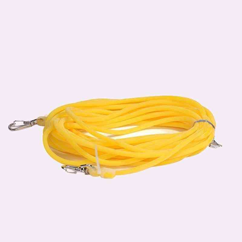 Fishing Pole Rope Protection Elastic Rubber Line