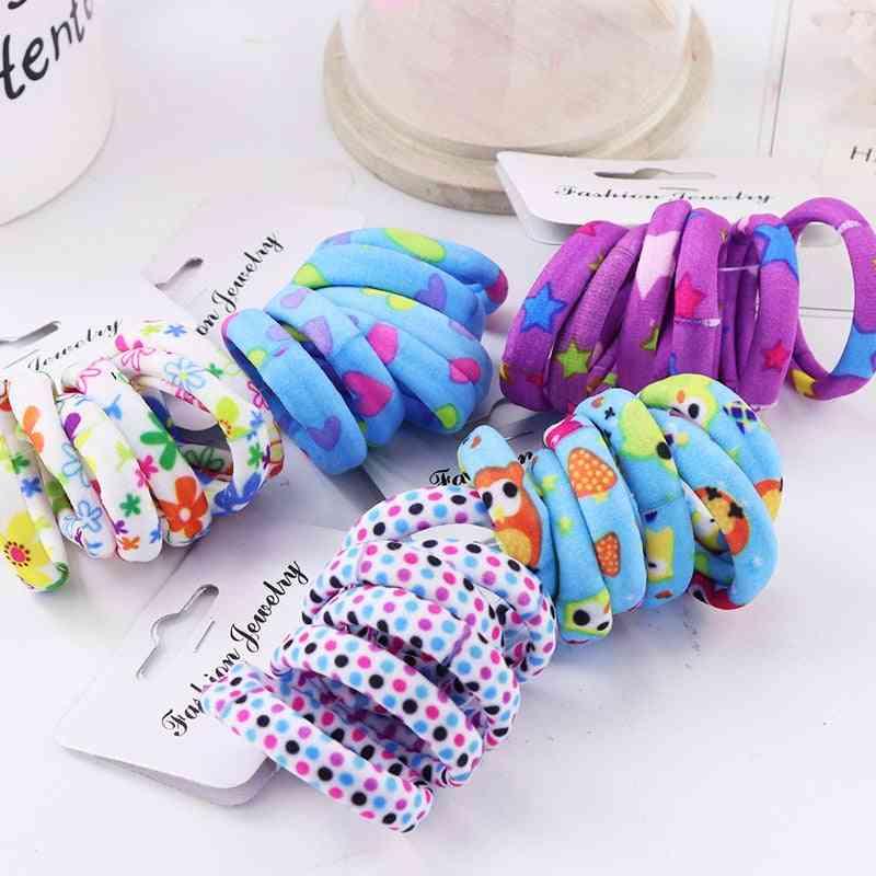 Colorful Print, Nylon Soft Elastic, Headband Hair Accessories