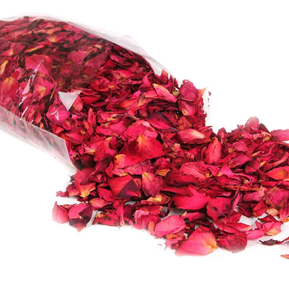 Natural Dried Rose Petals, Bath Dry Flower, Spa Whitening Shower, Aromatherapy Bathing