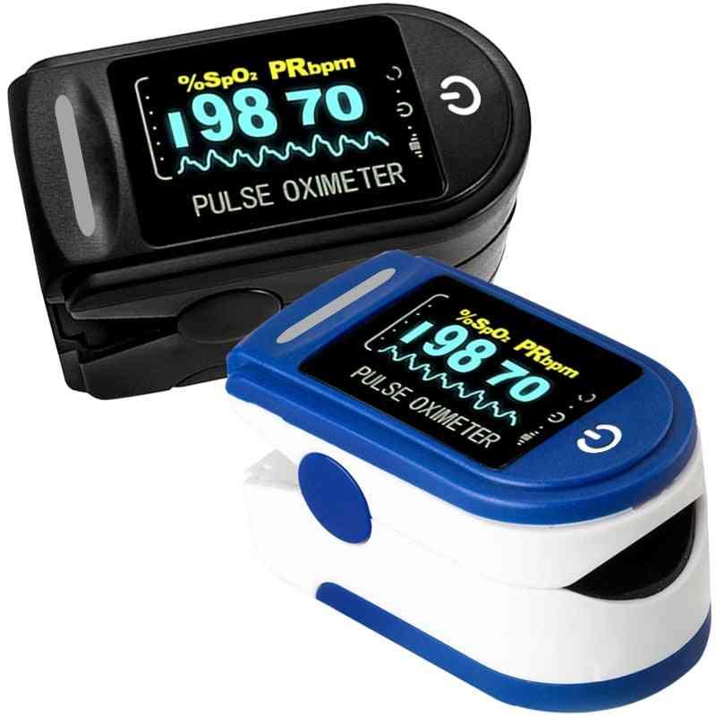 Medical Household Digital Fingertip Pulse Oximeter, Blood Oxygen Saturation Meter, Finger Pr Monitor, Health Care