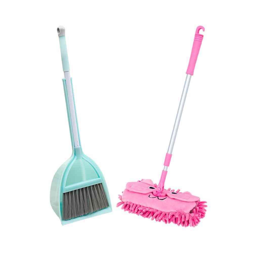 Kitchen Broom, Miniature Utensils, Play Mops, Floor Cleaning
