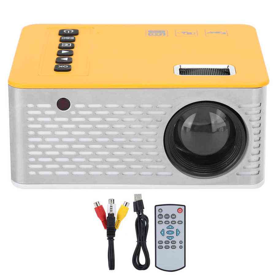 Portable- Mini Led Projector For Home Family, Cinema Theater, Wall Tv