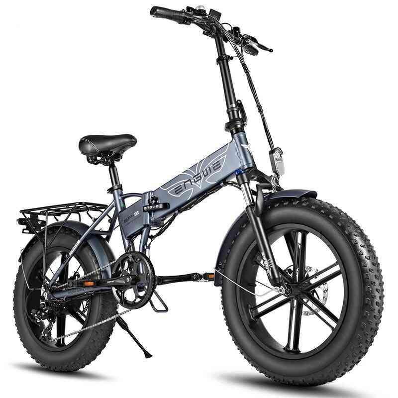 7-speed Electric, Powerful Motor, Fat Tire Bike Mountain, Snow E-bike
