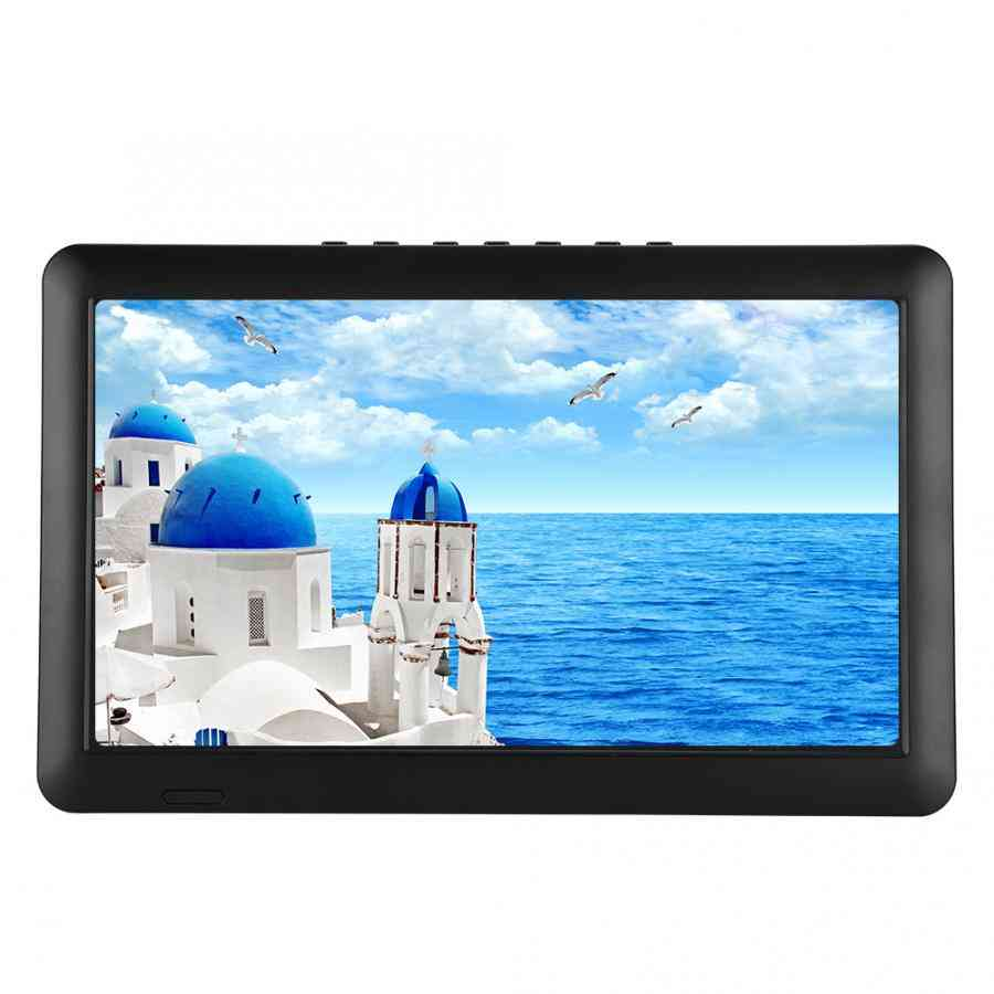 Portable- Digital Analog Tv With Stand