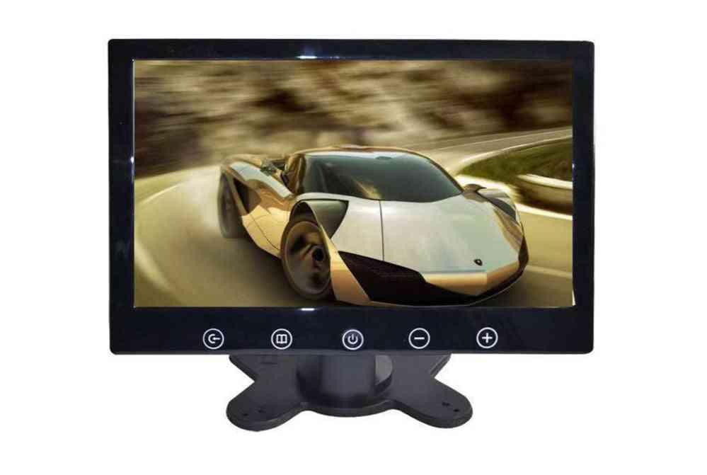 Portable- Av Car Display Monitor, Support Pal / Ntsc, Video Input