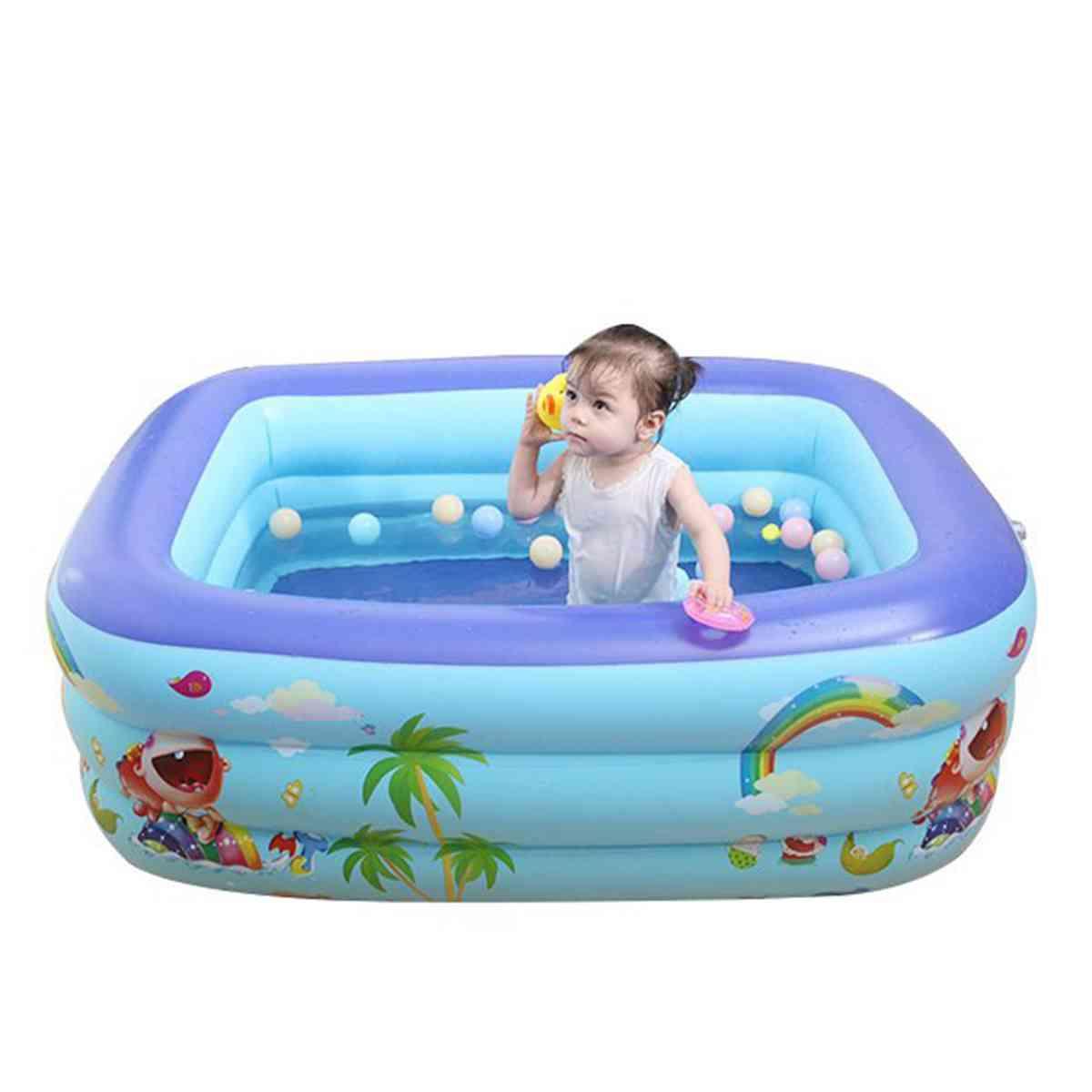 120/130150cm Inflatable Swimming Pool - Baby Bathing Tub