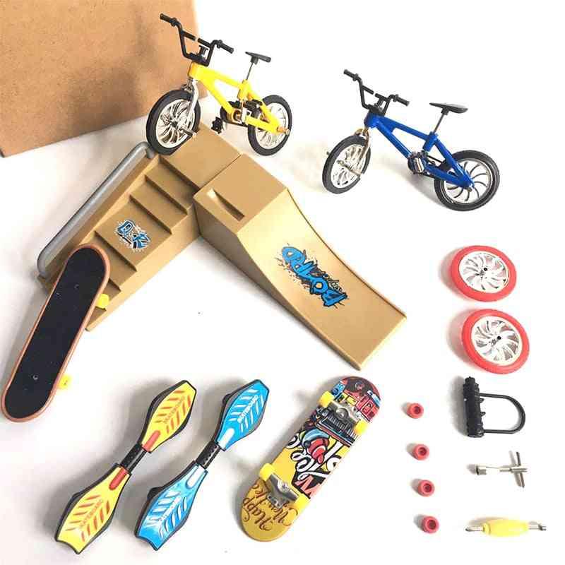 Mini Finger Skateboarding Skate Ramp Parts