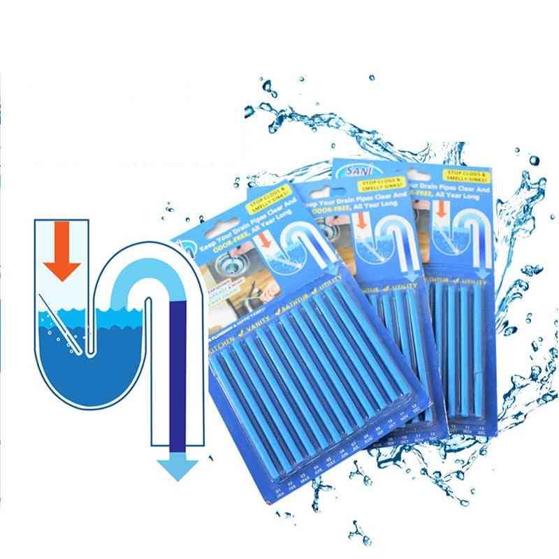 Sani Sticks Oil Decontamination Bathtub Drain Cleaner Sewer Cleaning Rod