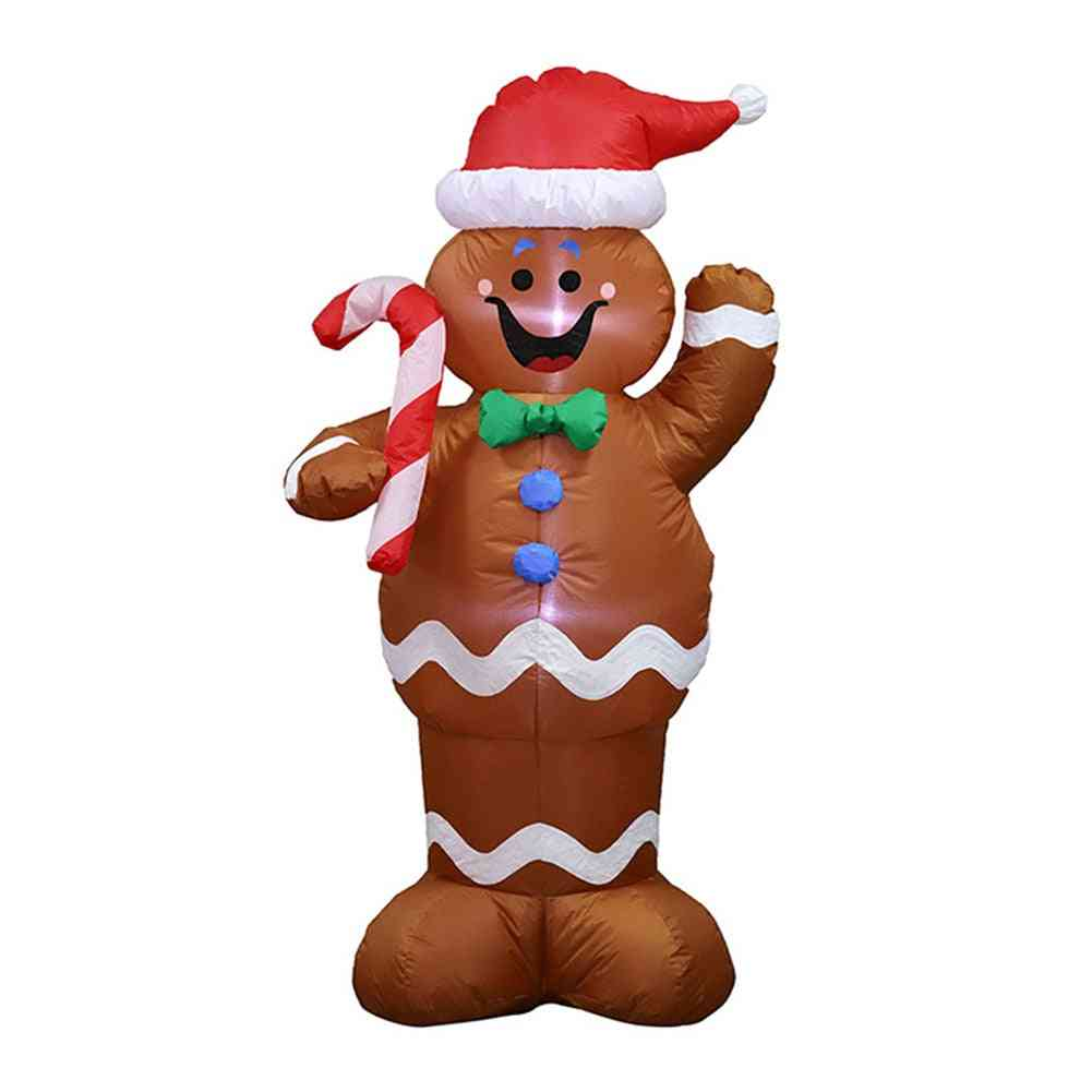 Christmas Inflatable Led Night Light Figure Doll Toy