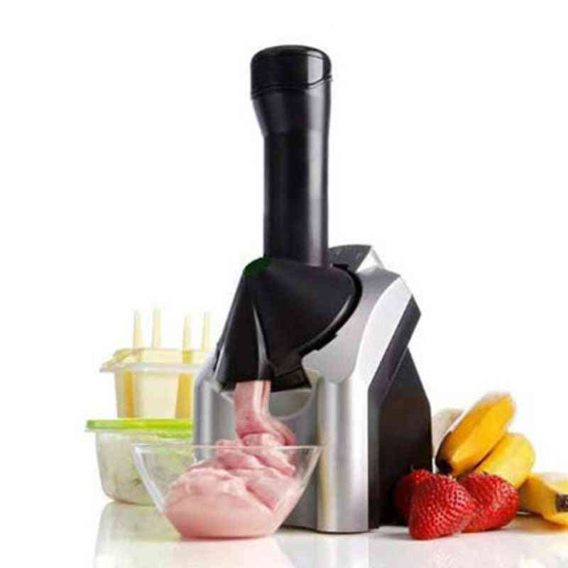 Automatic Ice Cream Maker Electric Frozen Fruit Dessert Pressing Machine Frozen Yogurt Milkshake Squeezer Eu Plug