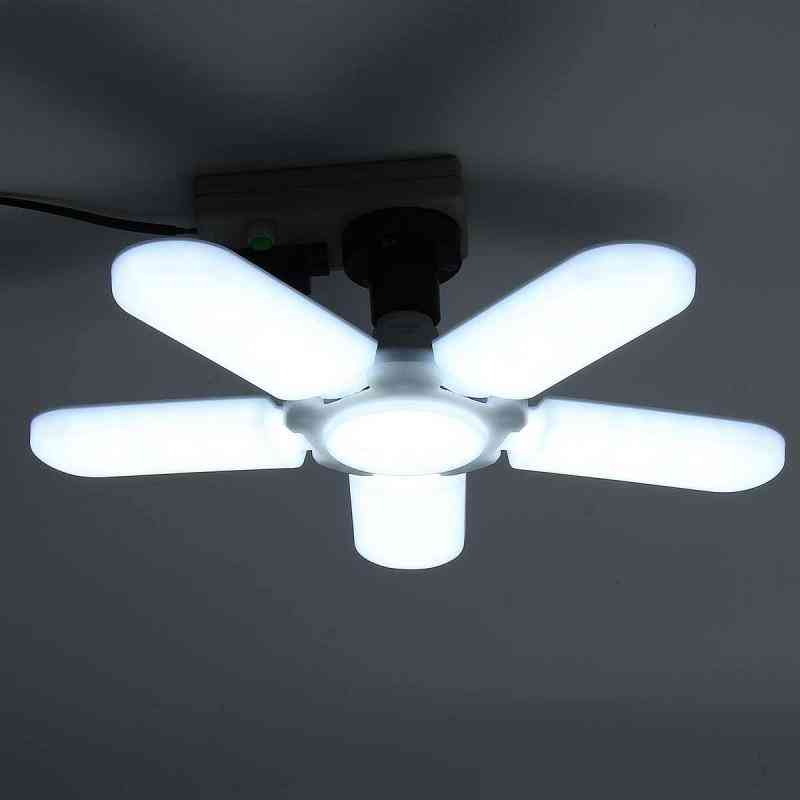 Deformable Folding Fan Blade Led Work Light / Lamp Adjustable Ceiling Lamp