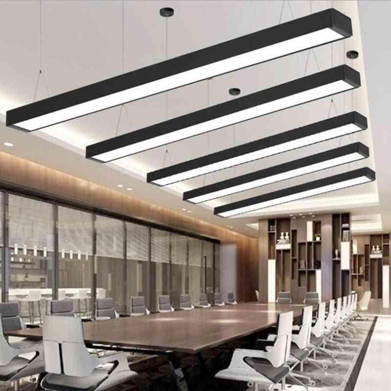 Modern Minimalist New Office Building Strip Ceiling Led Lighting Lamps