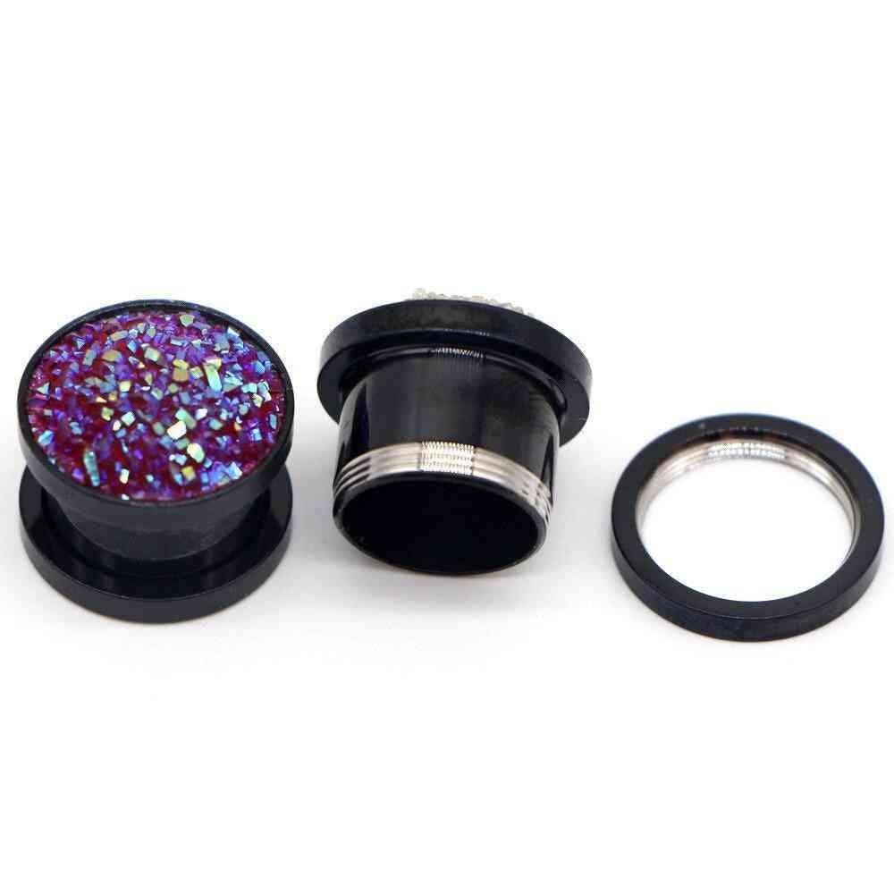 Stainless Steel Ear Plugs & Tunnels Jewelry