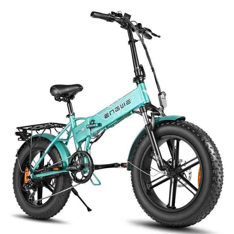 Electric Bike, Fat Tire Bicycle, Powerful Mountain, Snow E-bike