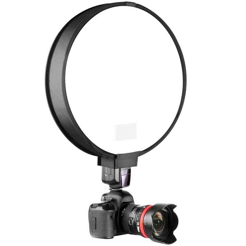 Universal Portable Speedlight On-top Soft Box For Camera