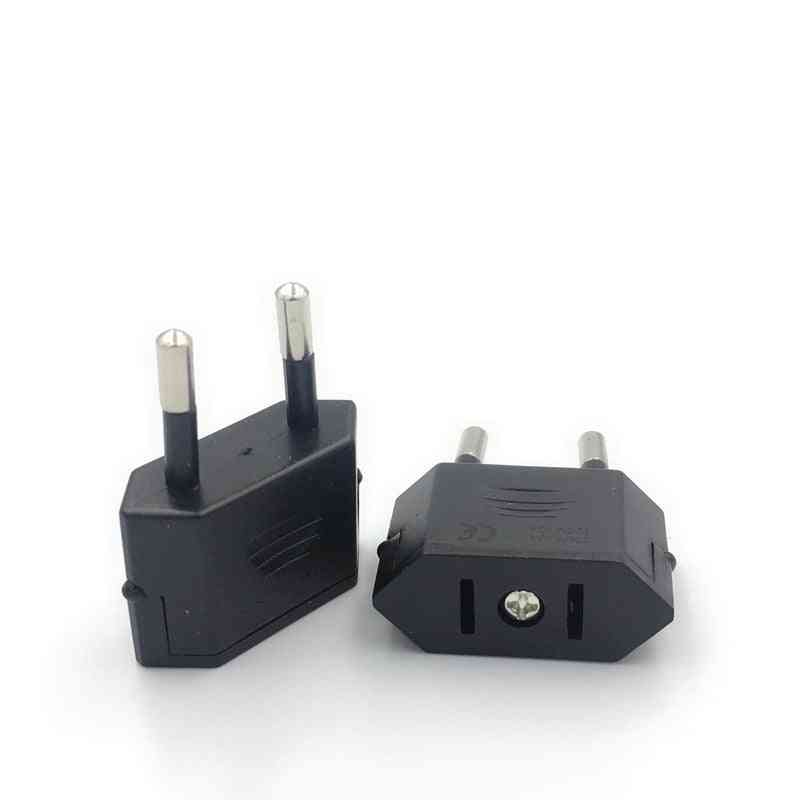 Eu Travel Power Type C Plug Electric Adapter