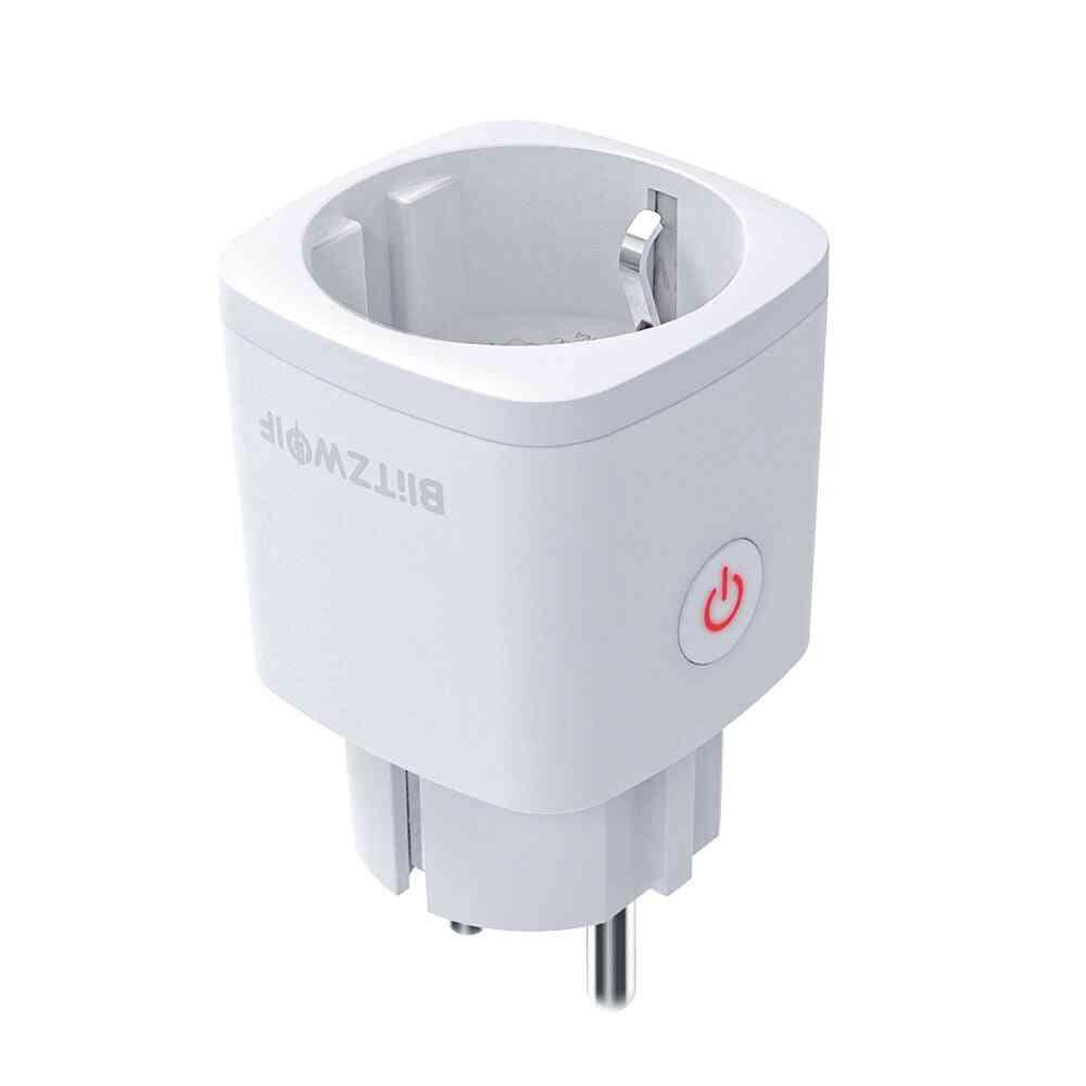 Bw-shp13 Eu Plug 3680w Zigbee 3.0 Smart Socket (white Eu Plug)