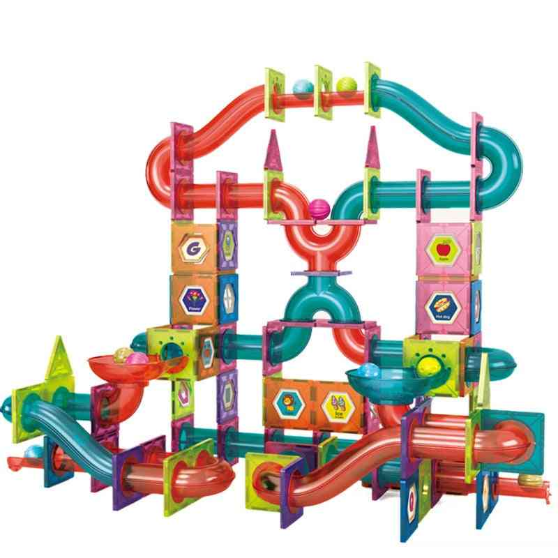 Magnetic Tiles Pipe Blocks For Toddlers