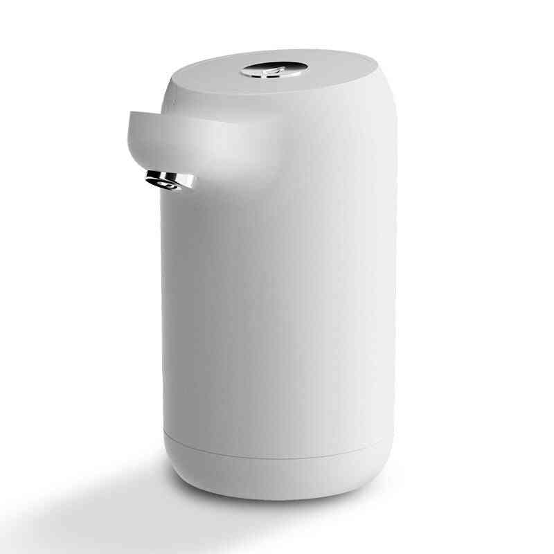 Household Electric Water Pump Barreled Dispenser, Automatic Pressurized Press, Usb Charging