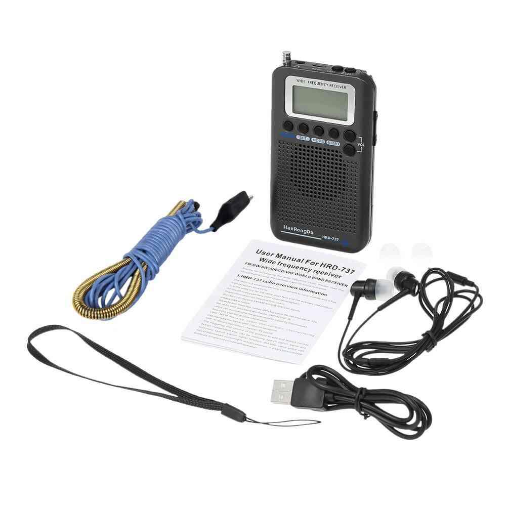 Portable Radio Aircraft Full Band Radio
