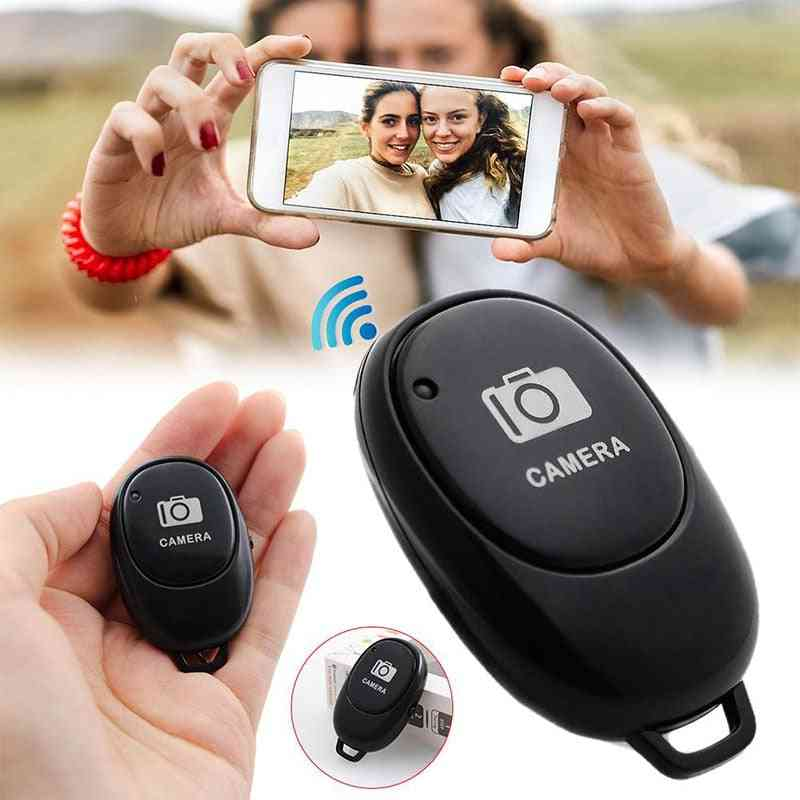 Bluetooth Remote Control Button, Wireless Controller, Self-timer Camera Stick, Shutter Release Phone Selfie For Ios / Android