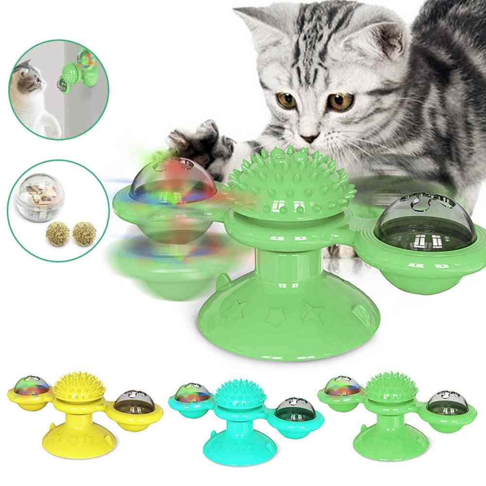 Toy For Cats, Puzzle Whirling, Turntable Play Game