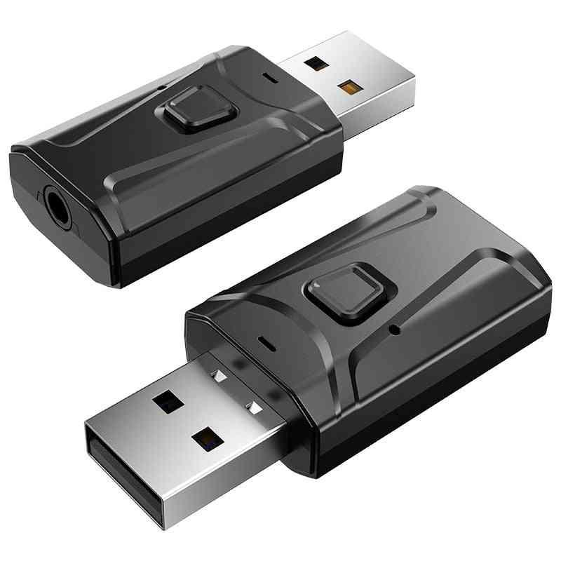Bluetooth Receiver Wireless (black Bluetooth V5.0)