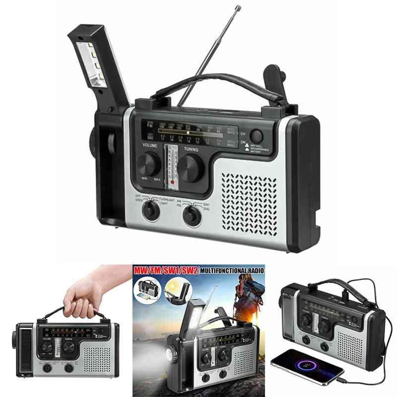 Outdoor Multifunctional Solar Radio