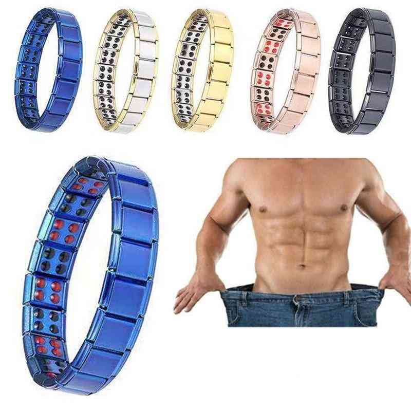Magnetic Therapy, Health Care, Loss Weight, Effective Stone Bracelets