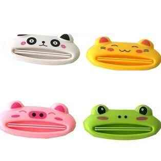 Bathroom Home Tube Rolling Holder Squeezer Easy Cartoon Toothpaste Dispenser Toothbrush Sanitary Ware