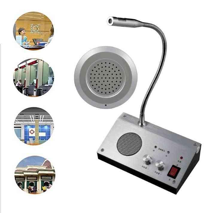 Dual Way Walkie-talkie, Channel Intercom External, Speaker System
