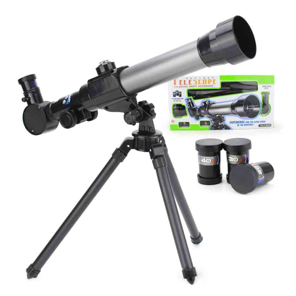 Astronomical Telescopes- Nature Science With Tripod Toy For